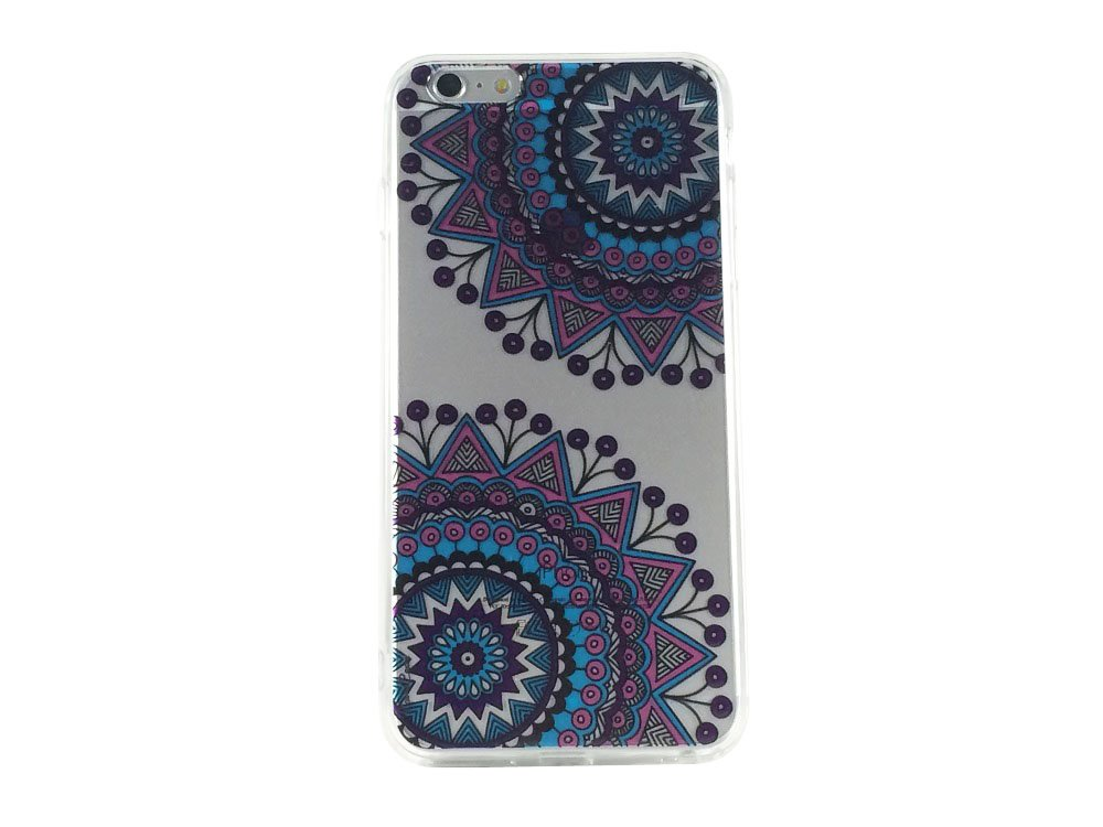 Purple Mandala Pattern Type 2 - New Cell Phone Case iPhone 6 ip6
