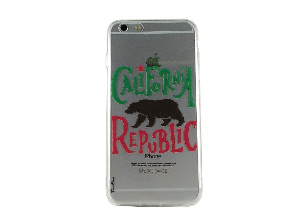 Republic of California - New Flag California Cell Phone Case iPhone 6 plus ip6 plus