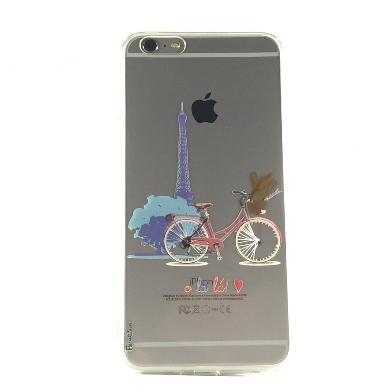 O La La - New France Bike Travel Cell Phone Case iPhone 6 ip6