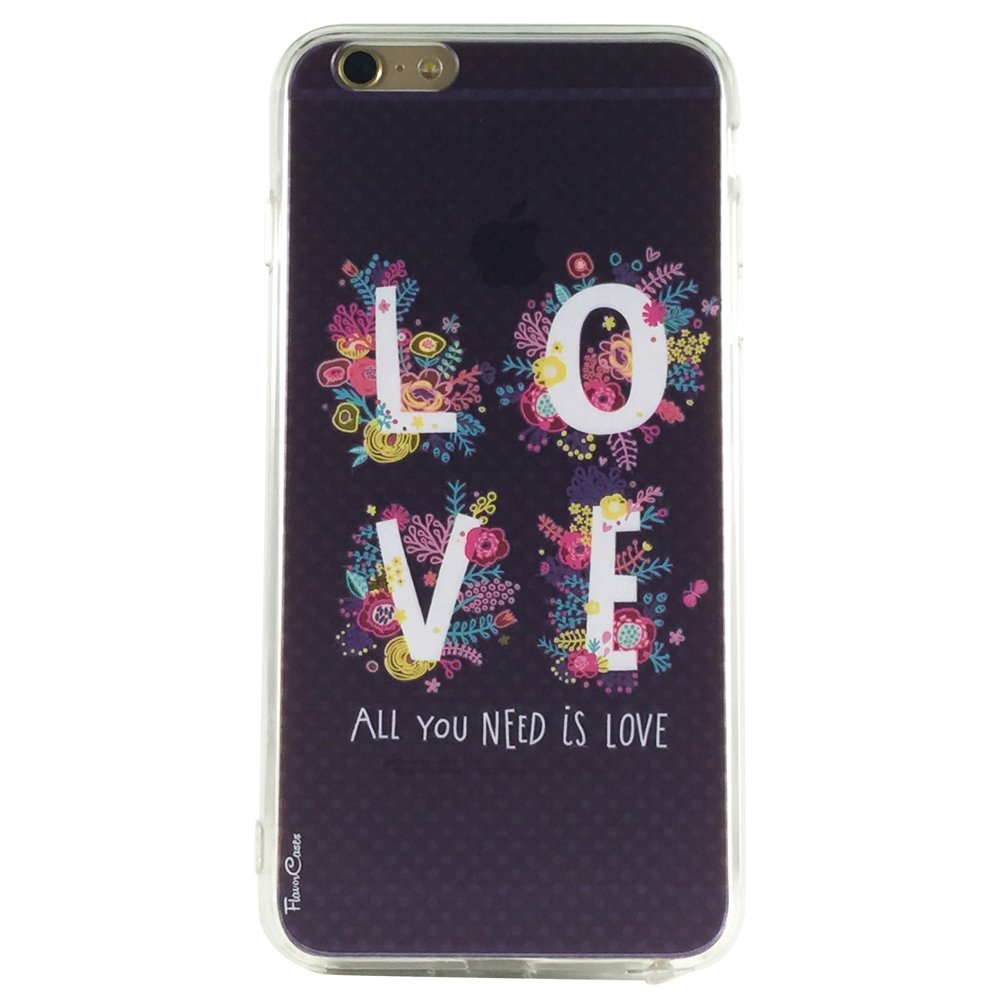 All You Need Is Love - New Love Pastel Flowers Cell Phone Case iPhone 6 plus ip6 plus