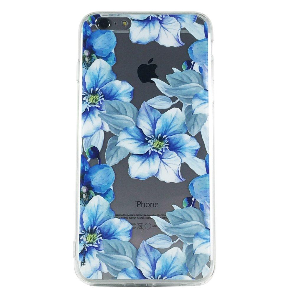 Secret Garden of Blue - New Floral Blue Flowers Cell Phone Case iPhone 6 plus ip6 plus