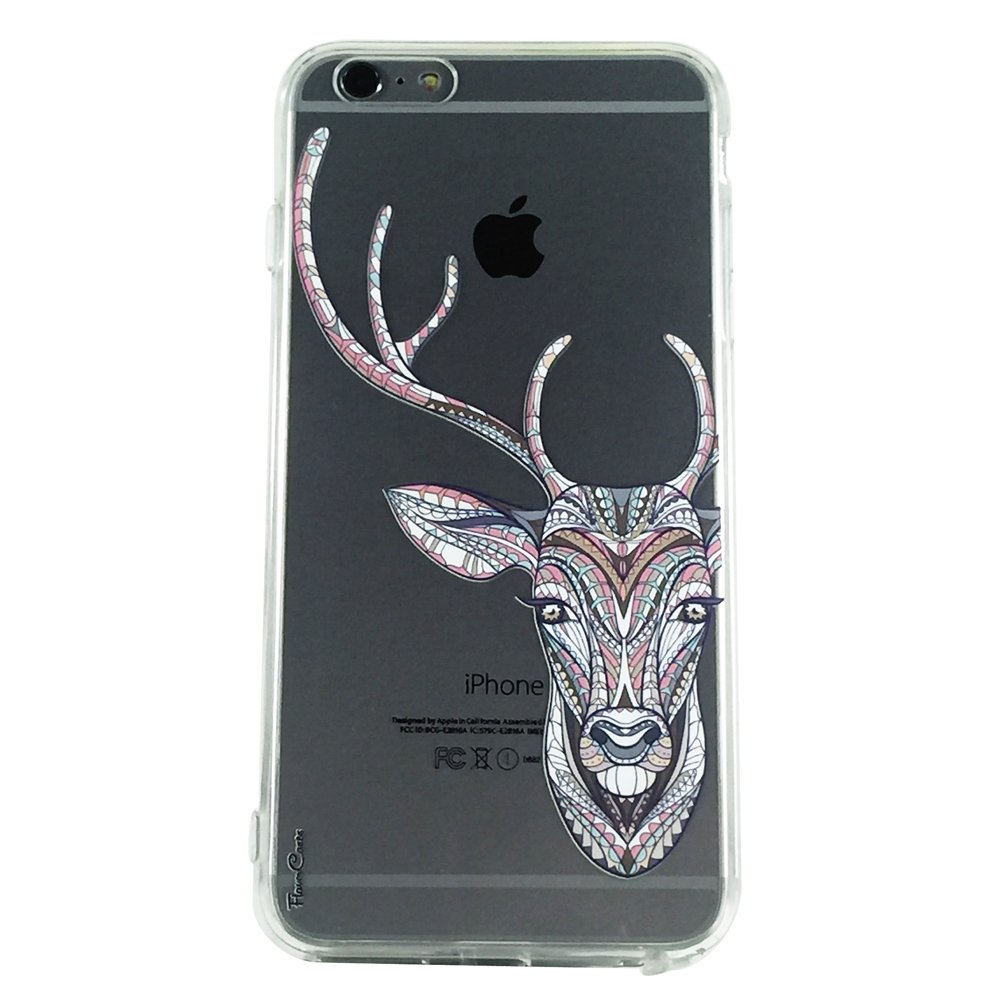 Deer & Co - New Animals Deer Pattern Cell Phone Case iPhone 6 plus ip6 plus