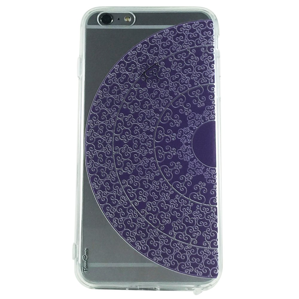 Purple Mandala Pattern Type 1 - New Henna Mandala Cell Phone Case iPhone 6 plus ip6 plus