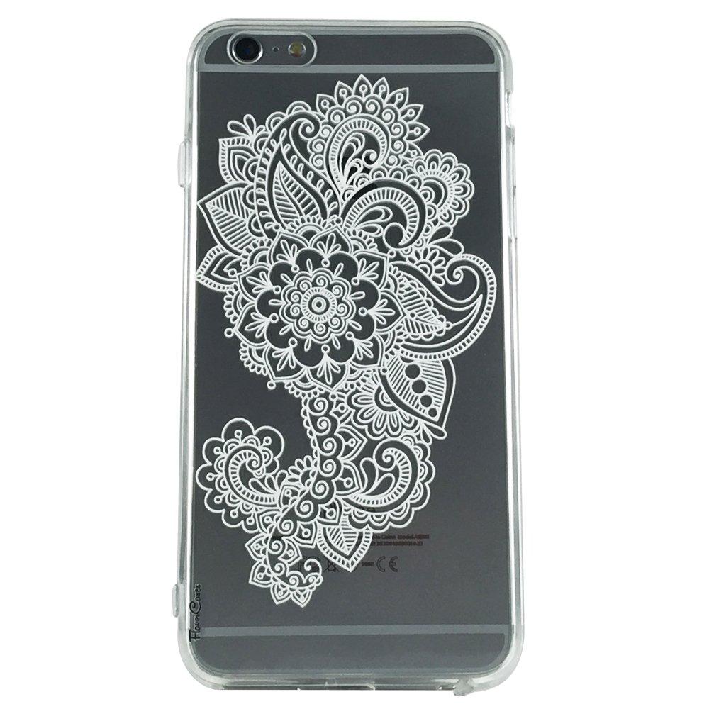 Mandala Pattern Type 7 - New Henna Pattern Cell Phone Case iPhone 6 plus ip6 plus