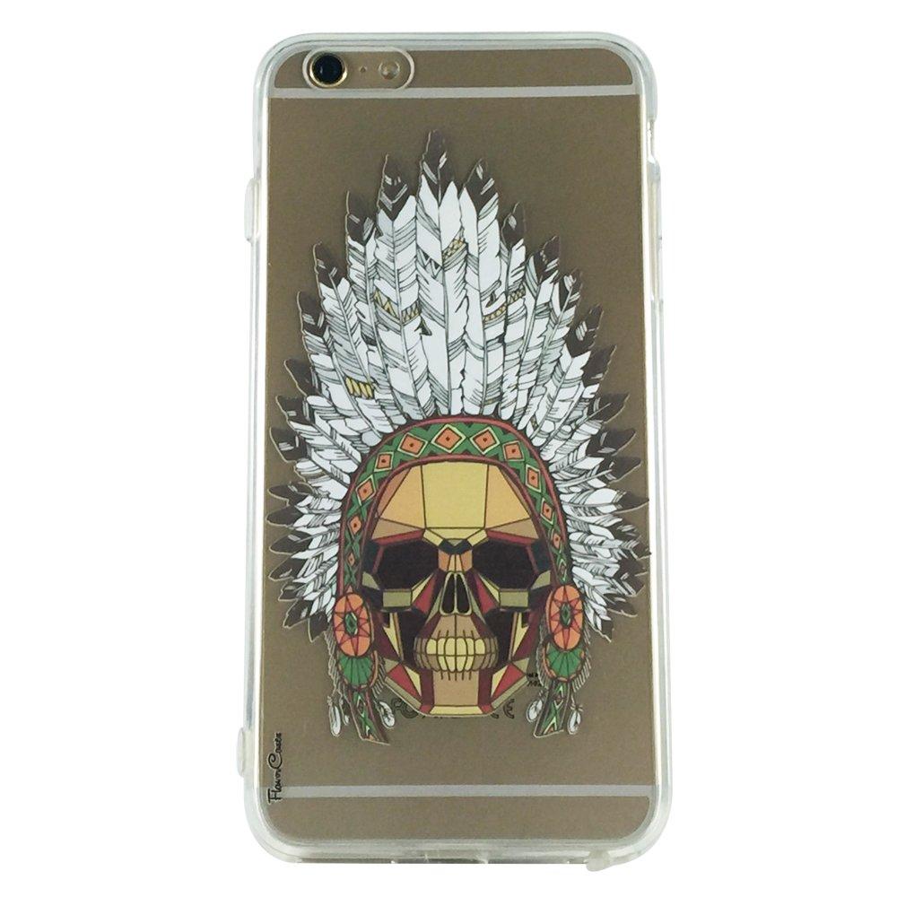 Indian Golden Skull - Skull Geometric Cell Phone Case iPhone 6 plus ip6 plus
