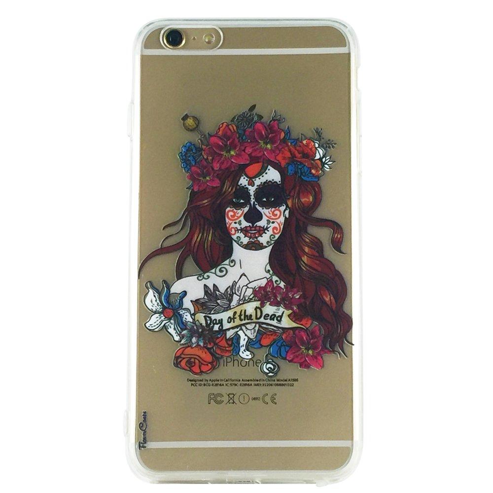 Maria - Skull Gothic Cell Phone Case iPhone 6 plus ip6 plus