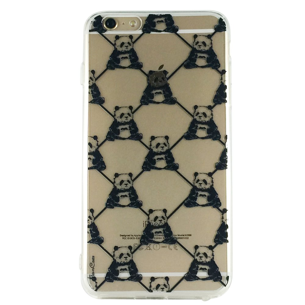 Panda Monogram - Animal Panda Cell Phone Case iPhone 6 ip6