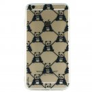 Panda Monogram - Animal Panda Cell Phone Case iPhone 6 plus ip6 plus