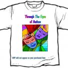 T-shirt, THROUGH THE EYES OF AUTISM, - (youth & Adult Sm - xLg)
