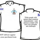 T-shirt, MY AUTISM RIBBON ~ Awareness - (youth & Adult Sm - xLg)