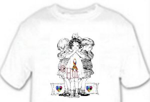T-Shirt, Autism Awareness SEE, HEAR, SPEAK, - (adult Xxlg)