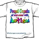 T-Shirt , Autism Awareness PROUD COUSIN  #3 - (youth & Adult Sm - xLg)