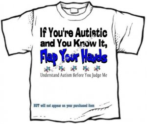 T-Shirt , Autism Awareness - Understand Autism Before You Judge Me - (adult 2xlg - 3xlg)