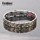 New Design Titanium Luxury Bracelet With Match Adjustor Magnetic Bio Elements Energy Bracelets