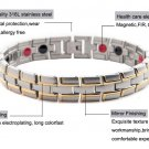 Healing Magnetic Bracelet 316L Stainless Steel Health Elements(Magnetic,FIR,Germanium) Bracelet