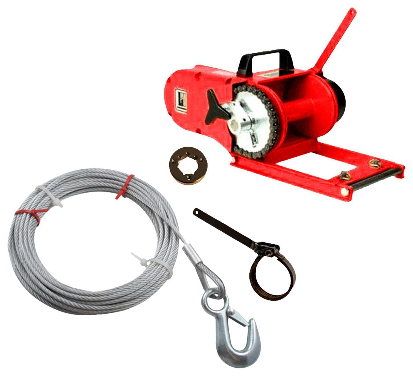 Powerhouse by Lewis Chainsaw Winch 8,000lbs capacity Full Package