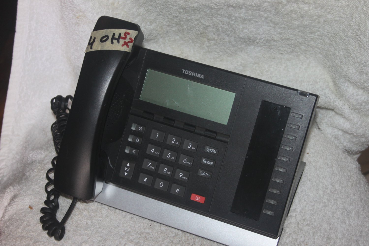 TOSHIBA STRATA DP5022-SDM 10 BUTTON BUSINESS LCD SPEAKER PHONE 5/16