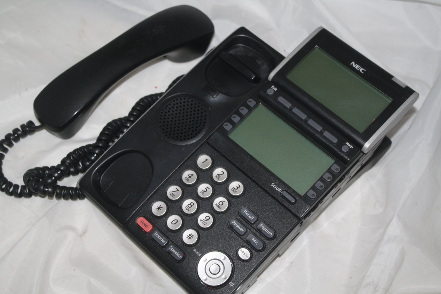 NEC DT300 Series DTL-8LD-1(BK) Office Phone (phone only) 5-16