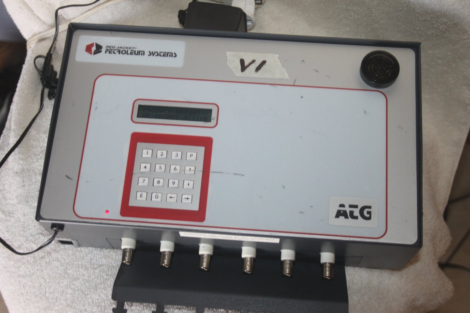 RED JACKET PETROLEUM SYSTEMS ATG MK2 AUTOMATIC PRODUCT LEVEL TANK GUAGE MONITOR