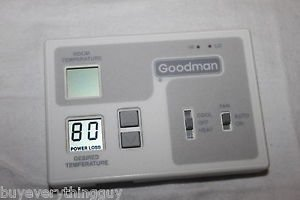 Goodman Chet18-60c 2 Speed Encoded Thermostat New