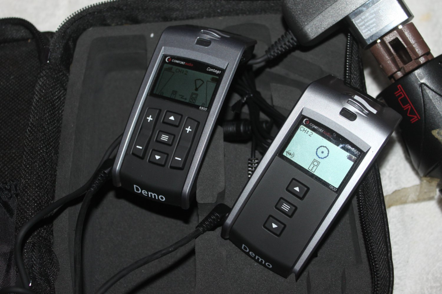 COMFORT CONTEGO R900 . T900 FM HD COMMUNICATION SYSTEM DEMO UNIT (v) q4