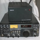 ICOM IC-751  100W HF TRANSCEIVER PlUS IC-PS15 POWER SUPPLY POWERS ON-AS IS