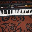 Ensoniq Mirage DSK 61 key Vintage keyboard-Powers On-Attic Find As Is