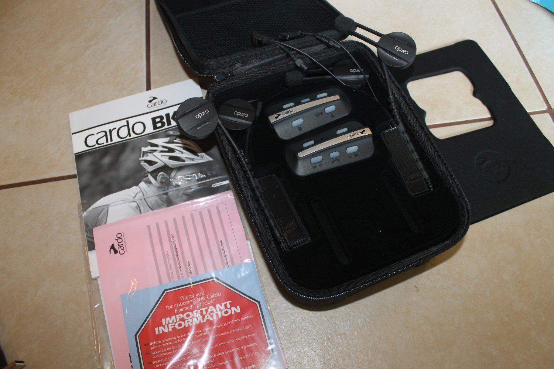 Cardo BK-1 DUO Bluetooth Bicycle Headset - 2 Units-Store Demo Units