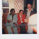 1970s Vintage African-American Men Photo Party Black People Color Polaroid USA