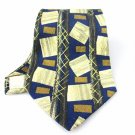 Men's New Fumagalli's for Neiman Marcus 100% Silk Black Tie NWOT Necktie BL062