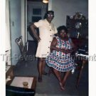 1960s Vintage Two African-American Women Photo Black People Color Americana USA