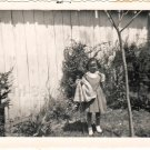 1940-50s Vintage Photo Adorable African-American Girl Cute Dress Black Americana