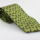 Men's New JOSEPH ABBOUD 100% Silk Tie Green NWOT Necktie Ties GR090