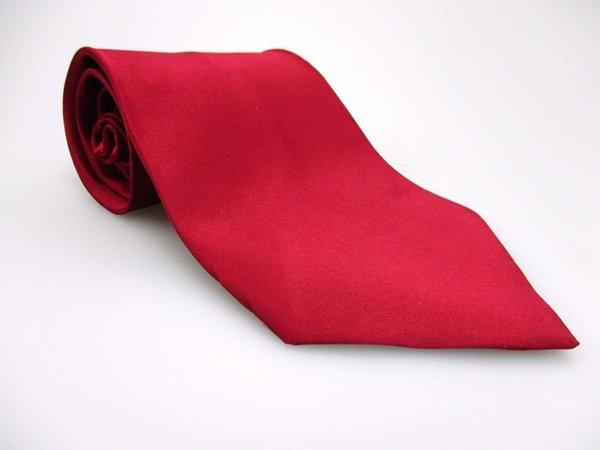 TOM MCCLELLON Men's New 100% Silk Tie BURGUNDY NWOT Necktie Ties SO0228