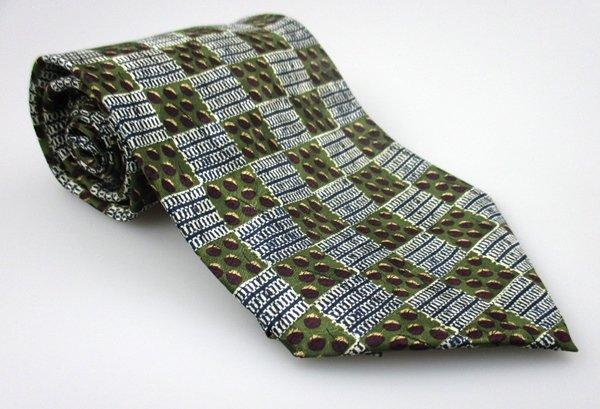 Men's New RON CHERESKIN 100% Silk Tie Green NWOT Necktie Ties GR0118