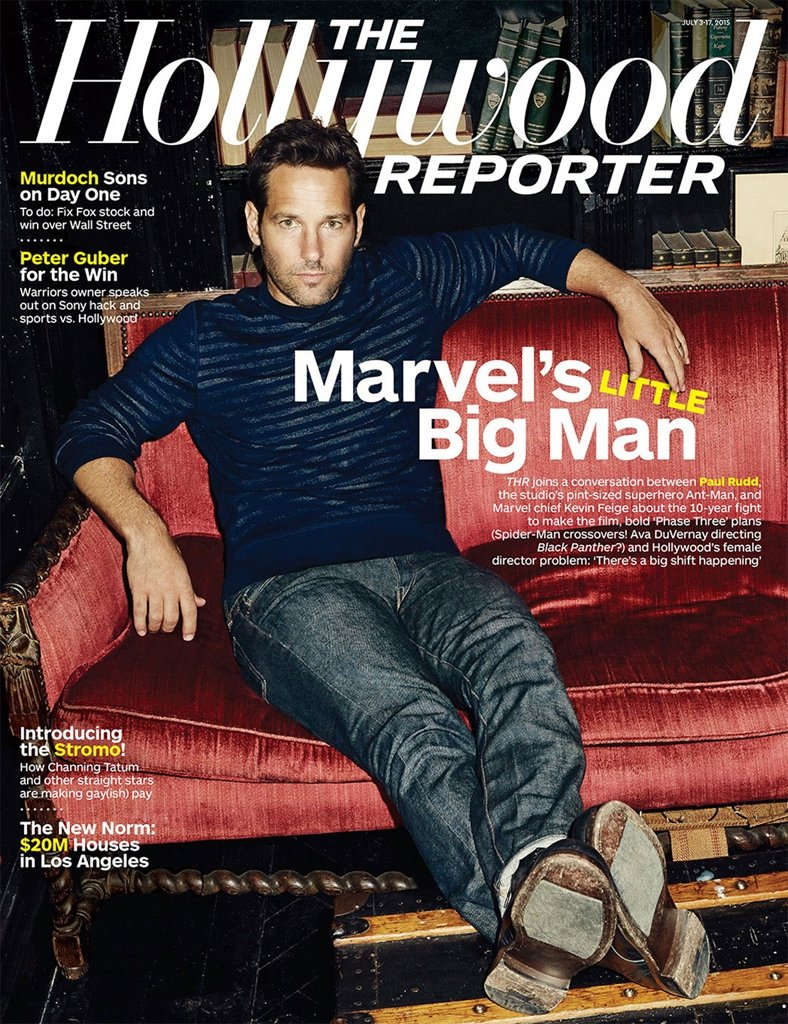 Hollywood Reporter Magazine - MARVEL'S LITTLE BIG MAN - JULY 3-17, 2015 - NEW