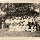 1940-50s School Photo of African-American Children Black Americana People Kids