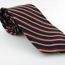 Men's TOM JAMES 100% Silk Tie Blue Red Necktie Ties BL0130