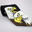 PURITAN Men's New Tie BALD EAGLE NWOT Necktie Ties ST0216