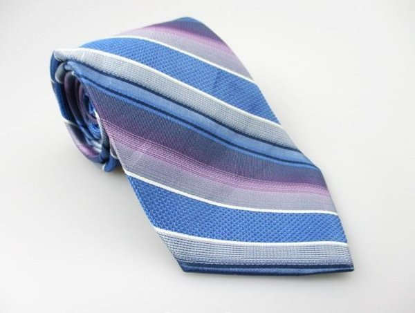 Men's New SUN RIVER CLOTHING 100% Silk Tie Blue NWOT Necktie Ties BL0144