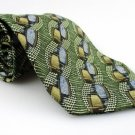 Men's New ARROW 100% Silk Tie Green Blue NWOT Necktie Ties GR0109
