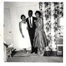 Vintage African American Photo Woman Women Family Men People Old Black Americana