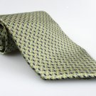 Men's New BILL BLASS NEO 100% Silk Tie Green NWOT Necktie Ties GR097