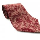 PIERRE CARDIN Men's New Tie Burgundy Floral NWOT Necktie Ties R0196