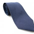 TOMMY HILFIGER Men's New 100% Silk Tie Blue White Polka NWOT Necktie Ties BL0159