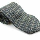 Men's New STRUCTURE 100% Silk Tie Gray Pillar NWOT Necktie Ties BWG083