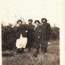 Antique African American Photo Women in Men's Suit Coats Fun Old Black Americana