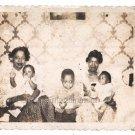 1950s Vintage Pretty African American Mothers Women Photo Black Children Babies