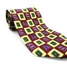ROBERT TALBOTT Men's New 100% Silk Tie Burgundy Yellow NWOT Necktie Ties BL0190