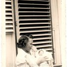 1940-50s Vintage African-American Mother w/Sleeping Baby Old Photo Black People